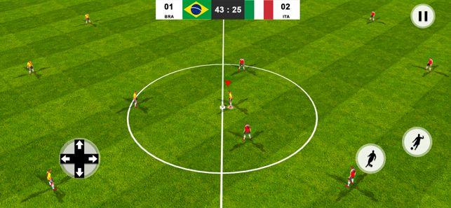 踢来的足球冠军游戏安卓中文版下载图1:
