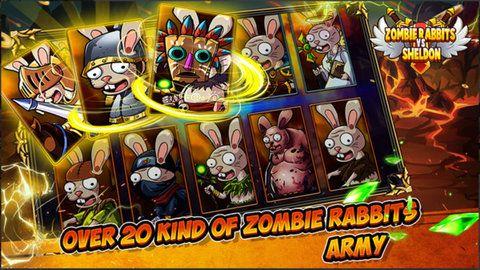 僵尸兔子防御战游戏中文无限能量下载图4: