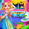 公主城堡房屋清洁游戏