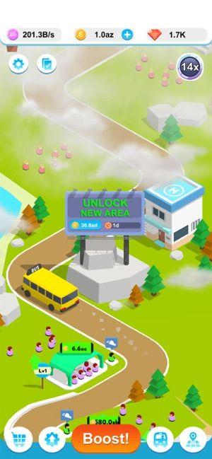 闲置巴士3D游戏中文版(Idle Bus 3D)图3: