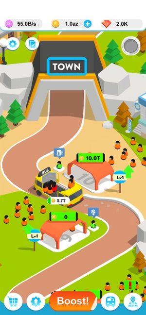 闲置巴士3D游戏中文版(Idle Bus 3D)图4:
