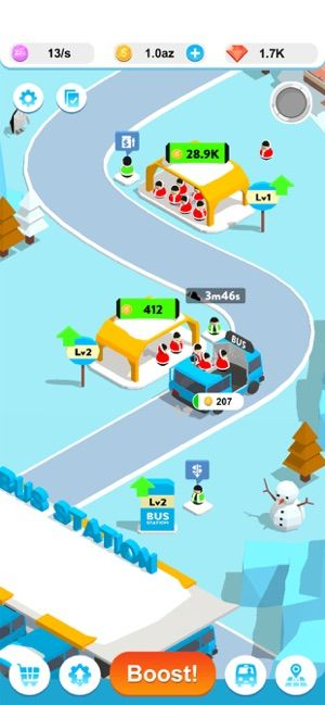 闲置巴士3D游戏中文版(Idle Bus 3D)图2: