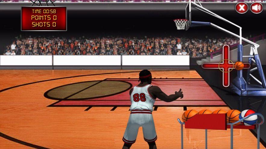 第86场篮球赛游戏中文安卓版(Game86 Basketball)图1: