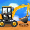 建筑卡车游戏