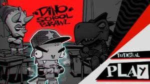 Dino School Brawl游戏图3