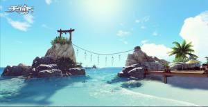 春节度假去哪玩?《天谕》手游汐语湾等你来图片1