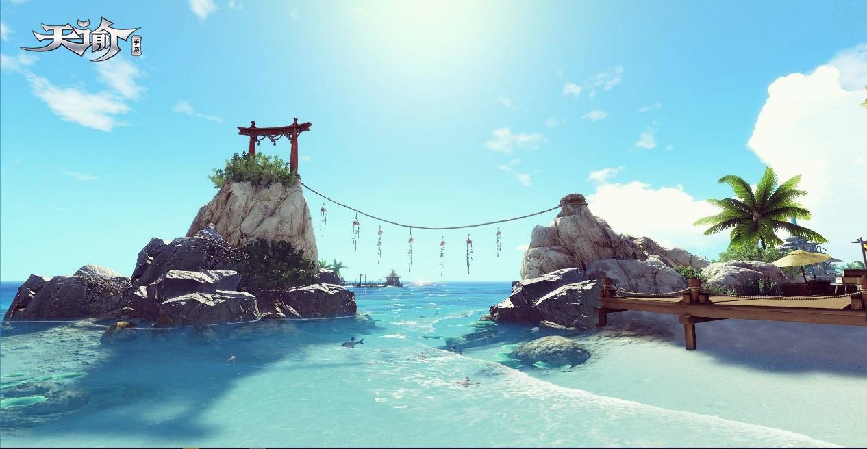 春节度假去哪玩?《天谕》手游汐语湾等你来[多图]