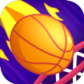 弹球灌篮游戏
