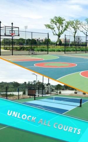 休闲街机篮球2020游戏图2