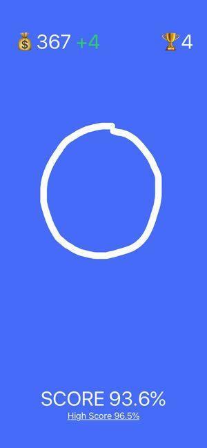 抖音画圆得分游戏图4
