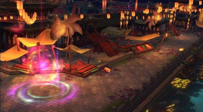 《天龙3D》新春福利版1月8日上线!开放新功能州桥夜市[视频][多图]图片3