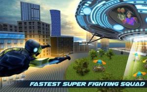 飞行超级英雄战争中文版图1