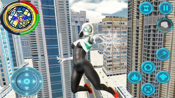 绳索英雄蜘蛛女侠游戏官方正版下载图1: