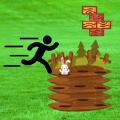 颜色与奔跑与撞兔游戏