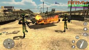 陆军火柴人反击英雄游戏图1