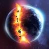 3d模拟星球撞击游戏