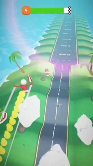 越野跑飞行火柴人游戏iOS破解版图片1