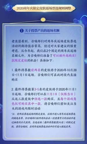 王者荣耀五周年庆典活动方案:五周年庆典返场皮肤名单图片3