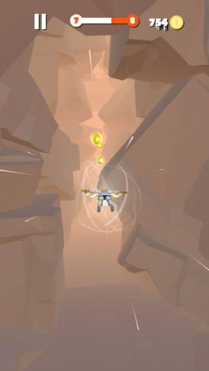 深空滑翔游戏无限金币破解版图片1