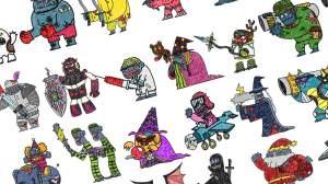 怪物VS僵尸VIP破解版图4
