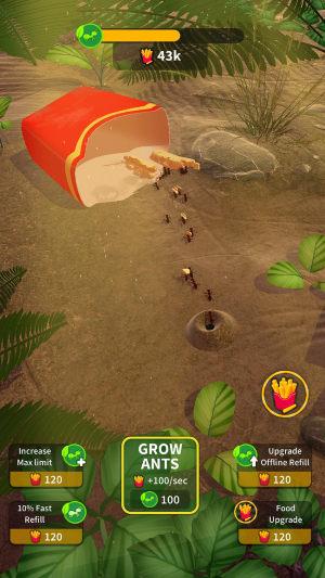 蚂蚁殖民地游戏图1