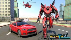 直升机变形机器人游戏图3