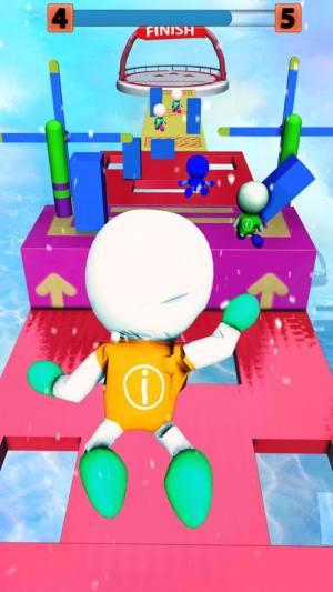 有趣的秋天火柴人男孩比赛游戏中文版图片1