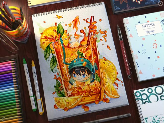 Realistic Paint Studio安卓免费版APP图3: