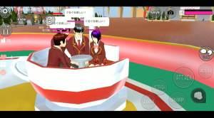 樱花下模拟器万圣节版图1