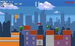像素猫冒险游戏图1