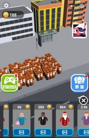满员拥挤公交车游戏图1