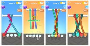 彩绳解解乐一共有多少关?游戏玩法及关卡介绍图片2