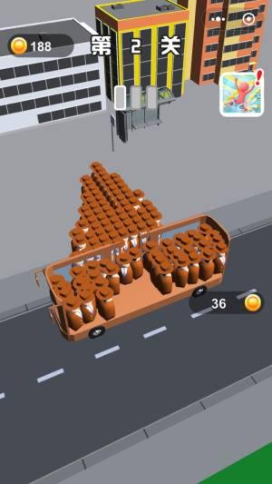 满员拥挤公交车游戏图2