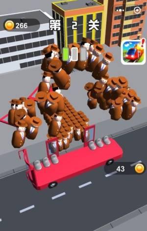 满员拥挤公交车游戏图3