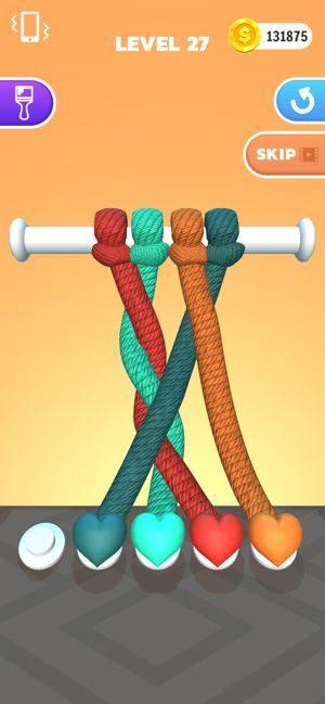 彩绳解解乐一共有多少关?游戏玩法及关卡介绍图片1