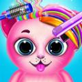 猫咪理发店游戏