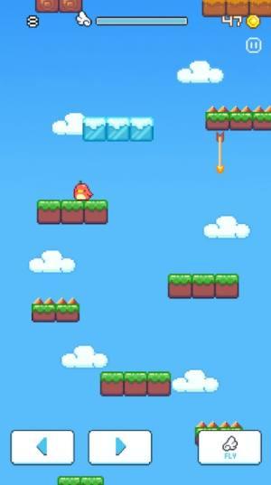 坠落的愤怒小鸟游戏最新版图片1