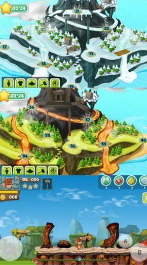 一刀一个蘑菇仔奇幻冒险游戏官方最新版图片1