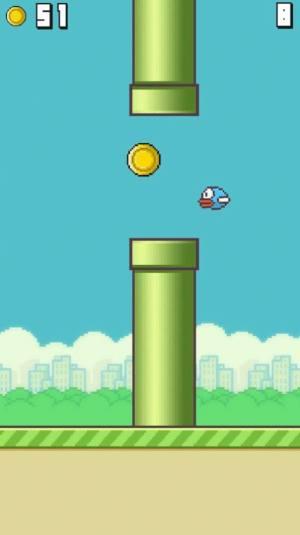 像素飞行小鸟游戏图1