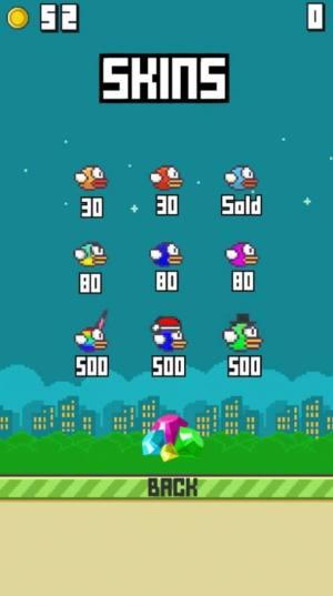 像素飞行小鸟游戏图3