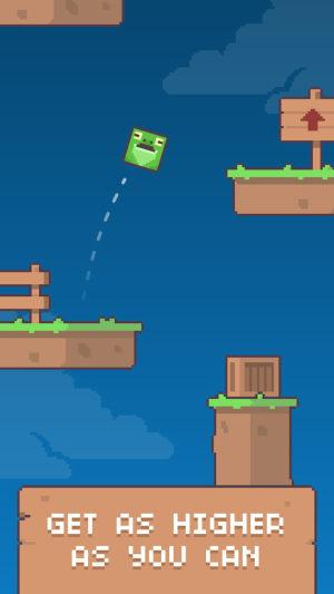 绿脸方块弹跳小游戏图4