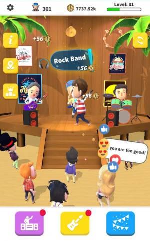空闲摇滚乐队游戏图1