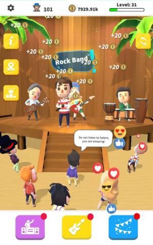 空闲摇滚乐队游戏图3