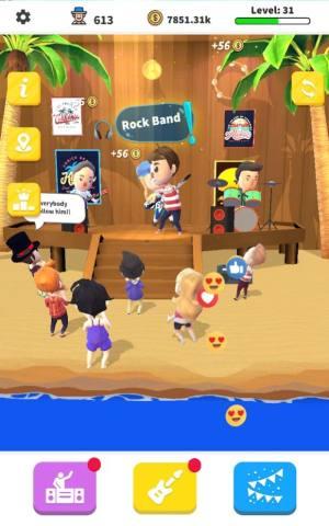 空闲摇滚乐队游戏图5