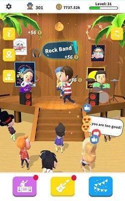 空闲摇滚乐队游戏官方版图片1