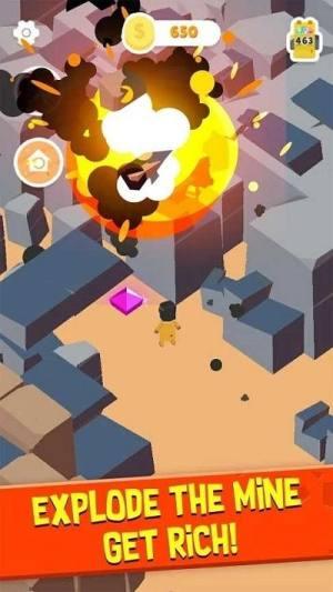 爆破采矿游戏官方版图片1