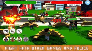 歹徒与警察的战场游戏图2