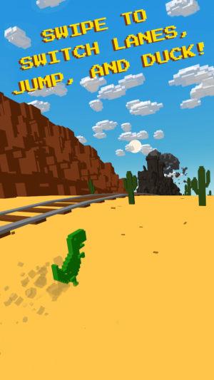 恐龙穿越沙漠游戏图1