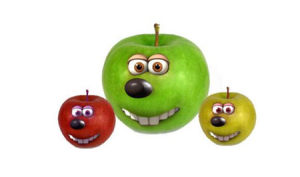 冬天的第一个苹果表情包图2