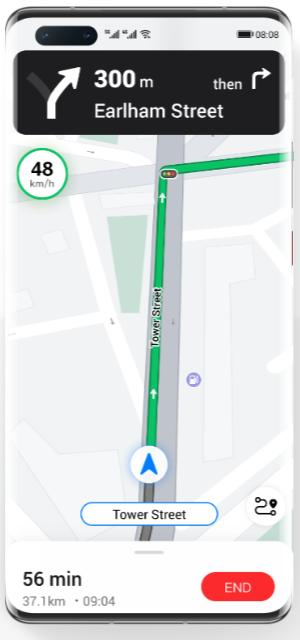华为花瓣地图app图4
